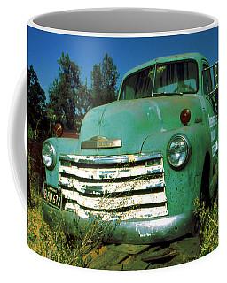 Green Pickup Truck 1959 Coffee Mug
