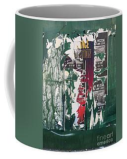 Green Placard Coffee Mug