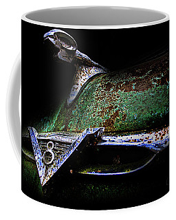 Green Ram Emblem Coffee Mug