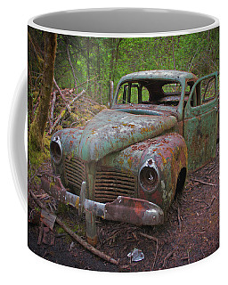 Green Relic Coffee Mug by Cathy Mahnke