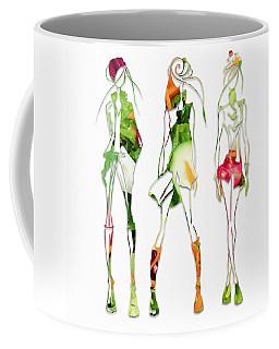 Green Salad Fashion Coffee Mug