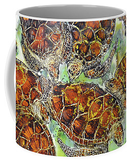 Green Sea Turtles Coffee Mug