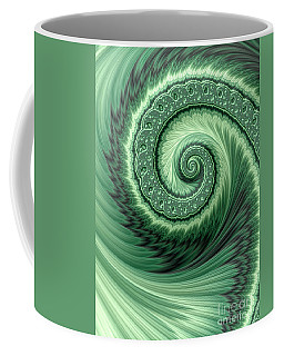 Green Shell Coffee Mug