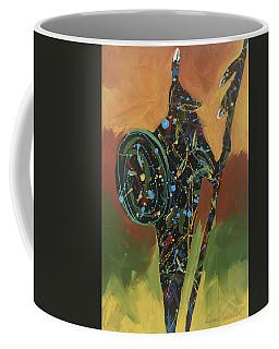 Green Shield Coffee Mug