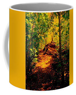 Green Silence Coffee Mug