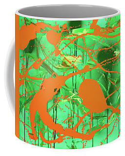Green Spill Coffee Mug
