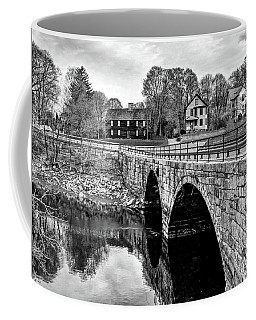 Green Street Bridge In Black And White Coffee Mug