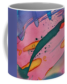 Green Stripe Coffee Mug
