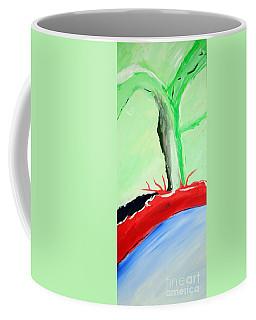 Green Tree Red Ridge Coffee Mug