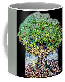 Green Tree With Birds Coffee Mug