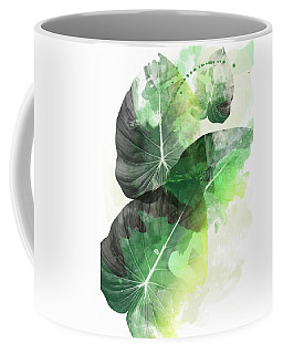 Green Tropical Coffee Mug