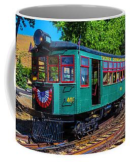 Green Tucson Cornelia And Gila Bend R R Coffee Mug