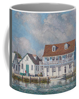 Green Turtle Cay Past And Present Coffee Mug