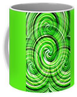 Green Twister Coffee Mug