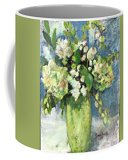 Green Vase Coffee Mug