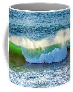 Green Wave Coffee Mug