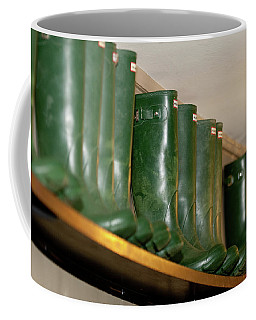 Green Wellies Coffee Mug