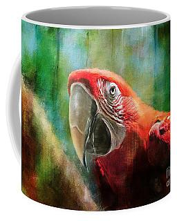 Green Winged Macaw Coffee Mug