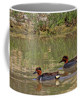 Green Winged Teal Coffee Mug