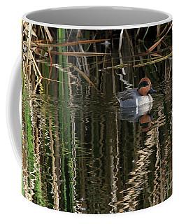 Green Winged Teal  Coffee Mug