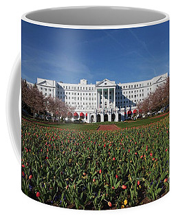 Greenbrier Resort Coffee Mug by Laurinda Bowling