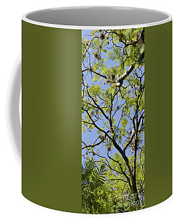 Greenery Center Panel Coffee Mug