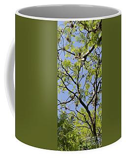 Greenery Center Panel Coffee Mug by Renie Rutten