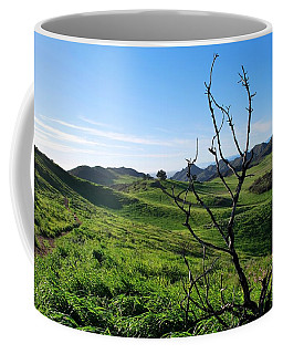 Coffee Mug featuring the photograph Greenery In The Hills Landscape by Matt Harang