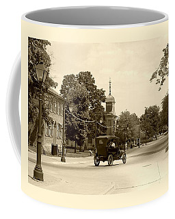 Greenfield Village Scene Coffee Mug by Ellen O'Reilly