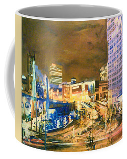 Greengate, Salford, Manchester At Night Coffee Mug