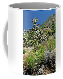 Coffee Mug featuring the photograph Greening Of The High Desert by Ron Cline