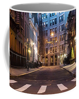 Coffee Mug featuring the photograph Greenwich Village by Alison Frank
