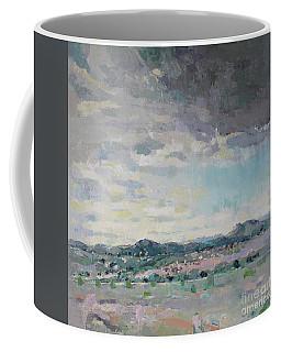 Greeting Santa Fe Coffee Mug