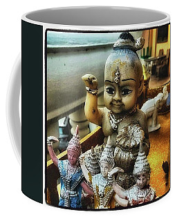 Coffee Mug featuring the photograph Greetings From Thailand. These Jolly by Mr Photojimsf