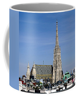 Greetings From Vienna Coffee Mug by Evelyn Tambour
