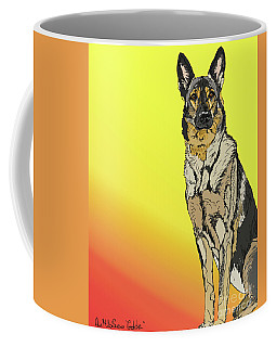 Coffee Mug featuring the digital art Gretchen In Digital by Ania M Milo