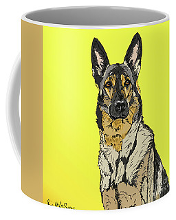 Coffee Mug featuring the digital art Gretchen Up Close by Ania M Milo