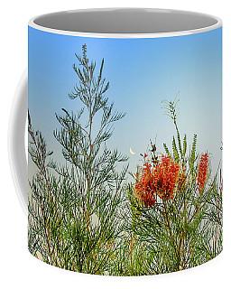 Grevillea With Moon Coffee Mug