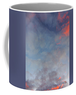 Coffee Mug featuring the photograph Pink Flecked Sky by Linda Hollis