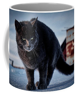 Grey Cat, Grey Mood Coffee Mug