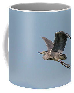 Grey Heron Coffee Mug