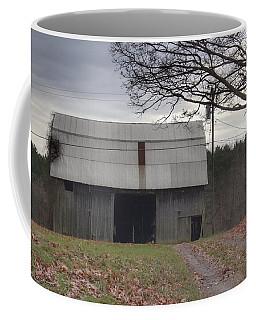 0014 - Grey Horse Barn Coffee Mug