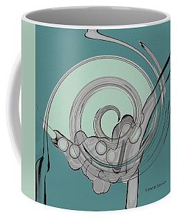 Grey In The Design Coffee Mug by Lenore Senior