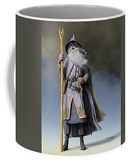 Grey Wizard Coffee Mug by Dave Luebbert