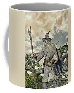 Grey Wizard II Coffee Mug by Dave Luebbert