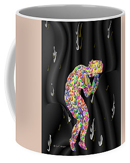 Grief - Abstract Painting Coffee Mug by Kae Cheatham
