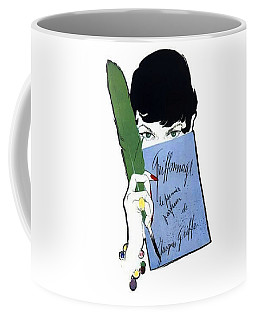 Coffee Mug featuring the digital art Griffe by ReInVintaged