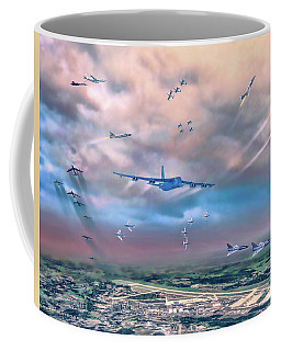 Griffiss Afb Rome Ny Coffee Mug by Dave Luebbert