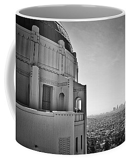 Griffith Observatory And Downtown Los Angeles Coffee Mug