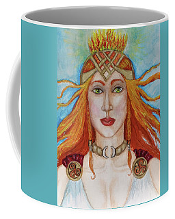 Brigidd Of The Sacred Flame Coffee Mug